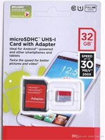 Wholesale Android Robots - Class 10 32GB 64gb 128gb Micro SD Card Free SD Adapter Free Retail Blister Packaging Android Robot C10