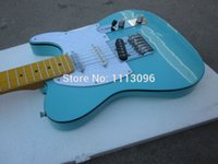 Wholesale Red Electric Guitars - Wholesale- Electric guitar NEW tl guitar green color oem with 3 pickups tl guitars