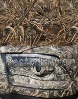 Wholesale Camo Vinyl Wholesale - Matte Ambush Camo Vinyl Wrap For Car Wrap Styling With Air Release Mossy oak Tree Leaf Grass Camouflage Sticker 1.52 x 30m   5x98ft