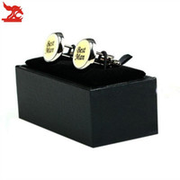Wholesale Cufflink Boxes Wholesale - Men's Black Cufflinks Box Classicia Gift Package Cases Cufflinks Storage Small Jewelry Boxes Free Shipping