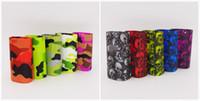 Wholesale Skull Starter Kits - SMOK alien 200w starter kits Silicone Cases Skull Head and Camouflage Protective Sleeve Cover for smok Alien vape kit