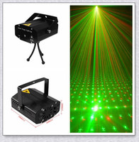 Wholesale Mini Lazer Stage Lighting - High quality Black New Mini Lazer Pointer Projector light DJ Disco Laser Stage Lighting for Xmas Party Show Club Bar Pub Wedding