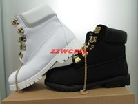 Wholesale Boots Waterproof For Men - Classic 10061 Waterproof Series Tims Outdoor Boots For Men Gold Chain Working Shoes Winter Dollar Flats Snow Casual Camo Solid Sneakers