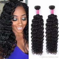 8A corpo brasiliano Deep Loose Wave Yaki Straight Jerry Curly Unprocessed Peruvian Indian Virgin capelli umani Capelli brasiliani intrecciano i pacchetti
