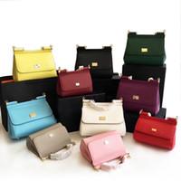 Wholesale palms small - New leather handbag leather palm print Sicily D leisure all-match Shoulder Messenger Bag G