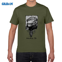 HALO T-shirts Men Game 2016 Master Chief 3D Impreso manga corta camiseta anime camisetas camisa masculina plus tamaño 4XL
