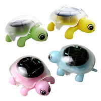 Wholesale Solar Power Tortoise - Turtle Solar Powered Energy Cute Tortoise Gadget Gift Animal Toys For Kid play funny Toy Educational learning