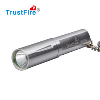 Wholesale Led Torch Toys - Best Gift Present KEY Chain LED Flashlght Stainless Steel Mini Camping Flashlight 10440 Rechargeable Torch Keychain Kids Play Toy Waterproof