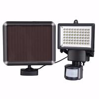 Wholesale white panel lamp leds for sale - Group buy Umlight Motion Sensor LED Solar Garden Light LEDs Outdoor Lighting PIR Body Solar Power Panel Lamp for Square Highway Outdoor Wall
