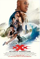 Wholesale 20 quot X30 quot inch Hot Sale xXx The Return of Xander Cage x35 Movie Poster Custom ART PRINT