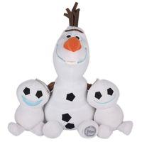 Wholesale Baby Push Toys New - 3Pcs lot New Arrival Kids Dolls Fever Olaf Plush Toys Snowman Cartoon soft Stuffed Plush Olaf Toys Olaf Doll for girl Baby Gift