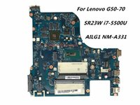 Wholesale Ddr3 Cpu - High Quality Laptop Motherboard Fit For Lenovo G50-70 Motherboard with SR23W i7-5500U CPU DDR3 AILG1 NM-A331 100% Fully Tested