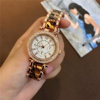 Wholesale Crystals Diamond Rhinestones Watch - High-quality Luxury Crystal Rhinestones Diamond inlay Clock dial Woman Quartz Watches Fashion Stainless Steel Quartz Watches wholesale