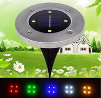 Wholesale Cheap Wholesale Cds - Solar LED underground lamp,Cheap solar lights ,LED Solar courtyard Lights,IP65 Waterproof buried lawn lamp floor lamps garden lights