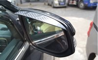 Wholesale Audi Rearview Mirror - Audi A1 A3 A4L A5 A6L Q3 Q5 Q7 car rearview mirror rain shelter decorative eyebrow
