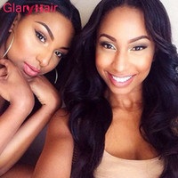 Glary Wholesale Unprocessed Virgin Hair Bundle Deals Mink Brésilien Peruvian Body Wave Hair Weaves Cheap Remy Human Hair Braiding Extensions