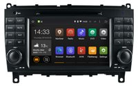 Android 5.1 Lettore DVD dell'automobile per Mercedes Benz CLK W209 CLS W219 con il GPS Navigation Radio BT USB DVR video stereo WIFI