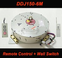 Wholesale Remote Control Chain - Wall Remote Control Hoist Crystal Chandelier Hoist Lighting Lifter Electric Winch Light Lifting System Lamp Motor DDJ150-6m cable