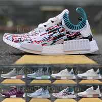 2017 Cheap NMD Runner R1 Primeknit Preto Triple iRun Running Shoes Mulheres Lover's Lightweight Respirável Athletic Sport Sneakers Tamanho 36-40