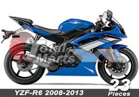 Wholesale Fairing For YZF R6 YZFR6 Injection Blue FD3612 Black FD3615 White FD3626 Sky Blue FD3637 Red FD3649