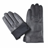 Wholesale Leather Opera Gloves Sale - Wholesale- Tactical Gloves Eldiven 2017 Fashion Women Adult Dot New Listed Leather Mesh Gloves Spring And Autumn Special Direct Sales