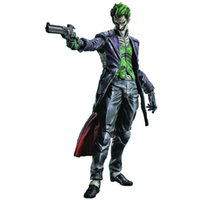 "Wholesale Square Enix Figures - THE JOKER PLAY ARTS KAI ARKHAM ORIGINS Square Enix 10"" BATMAN NO.4 action figure"