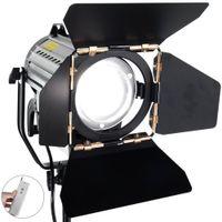 Wholesale Fresnel Lights - Wireless Remote Control Dimmable Bi-color LED150W LED Studio Fresnel Spot Light 3200-5500K for Camera Photo Video Equipment