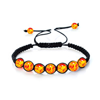Wholesale Imperial Copper - 8mm Seven Chakra Imperial Stone Braided Rope Fashion Volcanic Rock Bracelet Women Jewelry Charms Turquoise Beads Bracelets for Men Wholesale