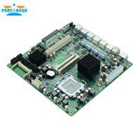 Wholesale intel series for sale - LGA771 Xeon Series dual core firewall motherboard with GPIO BIOS Display RJ network interface motherboard G41VE
