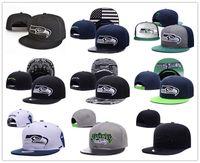 Wholesale Cool Caps For Women - 2017 Seattle Bucket American Football Hat For Men, Cool Summer Style Women Sport Fishman Hat Hip Hop Buckets Cap