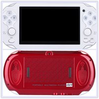 Wholesale 4gb tft mp3 player for sale - 4 quot TFT Screen GB Handheld Game mp5 Player mp3 Player mp4 Player With Dual Joystick Camera FM TV O Free DHL