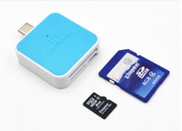 Wholesale USB in Multi function Type c Card Reader Adapter For Tyoe c interface Phone Macbook Pro Mac PC