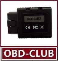 Wholesale Cable Can Clip Renault - Free Shipping New Renault-COM OBD Bluetooth Diagnostic and Programming Tool for Renault Replacement of Renault Can Clip