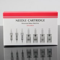 Wholesale Needles Makeup Rotary - Needle Cartridges Motorized Meso Machine Professional Medical Use Micro Derma Pen Tattoo Quality Goods Drop Shipping