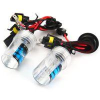 Wholesale Ballast For Hid 35w - Auto Headlamp External Lights 1Pair 8000K Warm White 12V 35W Slim Ballast Xenon HID Kit Light Bulb Car Headlight H1 for Vehicle