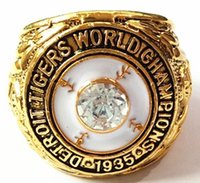Wholesale Detroit Ring - 1935 Detroit Tigers World Championship Ring