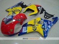 Wholesale Gsxr Race Bodywork - New ABS Fairing kits for 2000 2001 2002 SUZUKI GSX-R1000 K2 fairing kit GSXR1000 00 01 02 GSXR 1000 fairings bodywork Set Racing red yellow