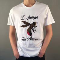 Wholesale Plain Men S T Shirt - Spring Xia Round Neck Short Sleeve Cotton European DESIGNER Men T-shirts For beatles t shirt SHIRTS plain t-shirt