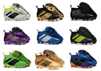 Wholesale Cheap Soft Elastic - 2017 Cheap Online Wholesale Ace 16+ purecontrol soccer boots Pure Control Football Shoes Soccer Cleats Boots Cheap Football Shoes