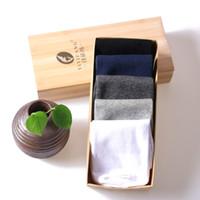 antideslizante al por mayor-10 pares de 5 colores un tamaño puro algodón deporte hombre calcetines, anti-olor y zapatillas de calcetín absorbente para exteriores