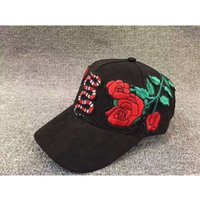 Wholesale 2017 new style Snakes and roses hats women men fashion hip hop adjustable caps Baseball cap