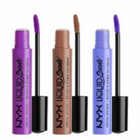 Wholesale lipstick waterproof nyx resale online - 2016 BRAND NEW SEALED NYX LIQUID SUEDE CREAM MATTE LIPSTICK long lasting waterproof NYX lip gloss