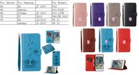 Wholesale Cute Iphone 5s Flip Case - Sexy Girl 2 in 1 Removable Wallet Leather For Iphone 7 Plus 6 6S SE 5 5S Cute Owl Lady Case Animal Vintage Detachable Flip Magnetic Strap
