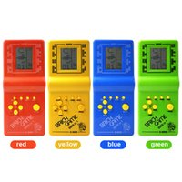 Wholesale Video Puzzles - Special sales Free delivery Classic Tetris electronic portable LCD game console children's puzzle toys video game game console
