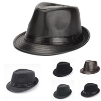 Wholesale Fedora Styles - New Autumn Winter British Style Men Jazz Caps Hats Fashion Wool Felt Fedoras Trilby Hat for Middle-aged and Elderly Men GH-215