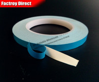 Wholesale Bonding Tapes - Wholesale- 2016 (0.25mm thick) 6mm*25M Two Side Adhesive Heat Conduct Thermal Tape for HeatSink LED Light Panel Isolate Bond