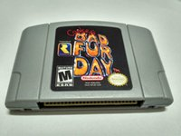 N64 Game Conker's Bad Fur Day Video Game Cartridge Console Card États-Unis