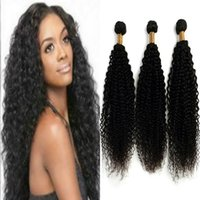 Wholesale Long Curly Human Hair Weave - Indian Human Hair Extensions 10-28 Inch Clip in Hair Extensions 8A Grade Silky Long Curly Wave Hair for Women 3 Pcs Package Set