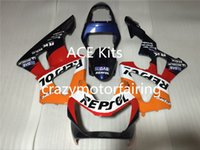 3 Presentes Novos carenagens de Injeção de ABS para CBR 00 01 CBR929RR CBR 929 929RR 900RR CBR900RR 2000 2001 Cool Black Orange Red YA