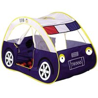 Wholesale Kids Tent Car House - Wholesale- Tent For Children Foldable Polyester toy tents Pop Up Indoor Outdoor Children Car Blue Play House For Kids Teepee Infant Hot